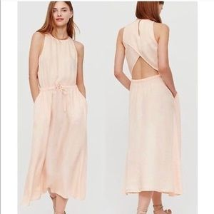 Lou & Grey Open Back Maxi Dress